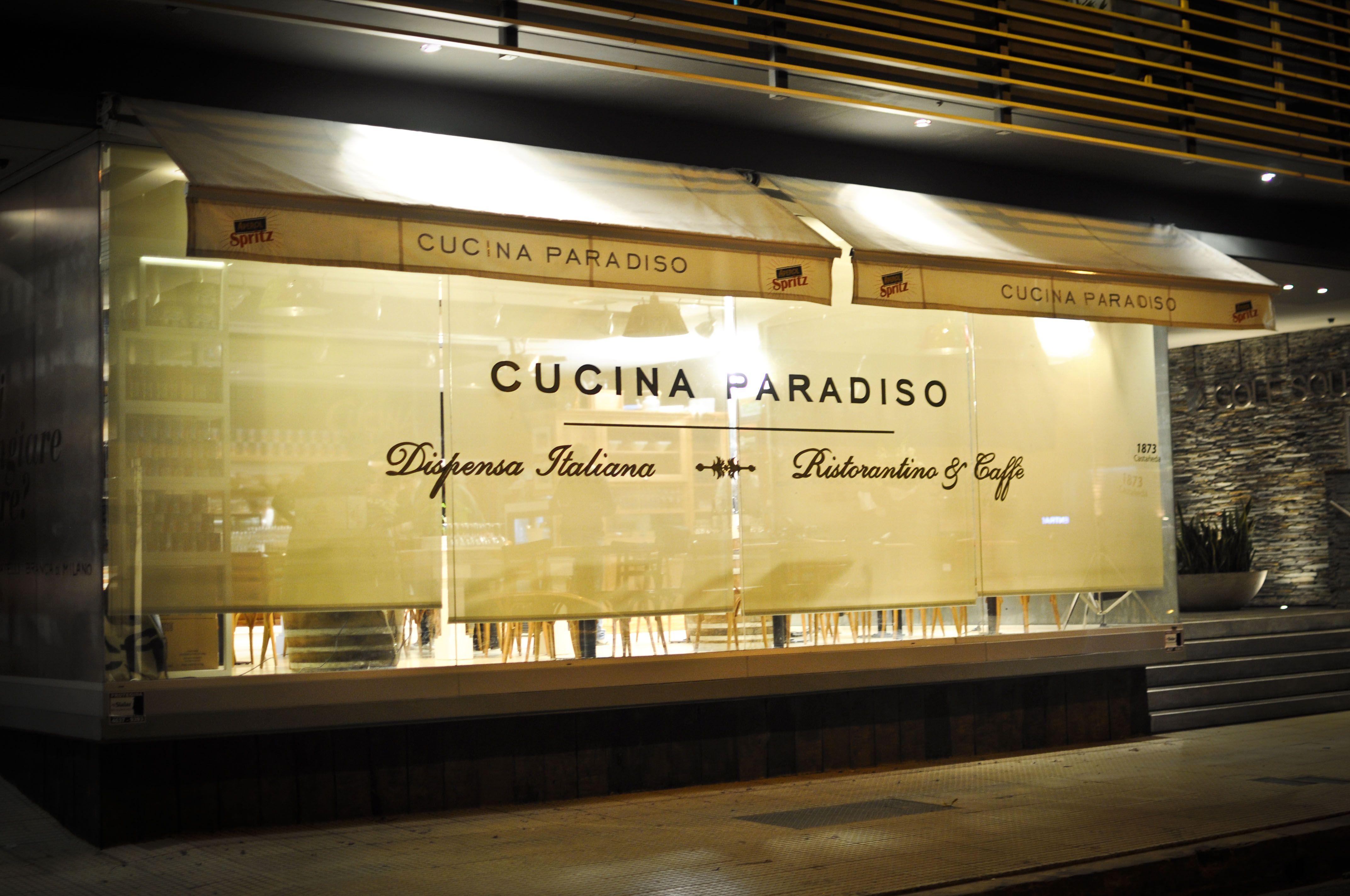 Donato De Santis - Cucina Paradiso cuenta con locales situados en Belgrano y Palermo en la ciudad de Buenos Aires