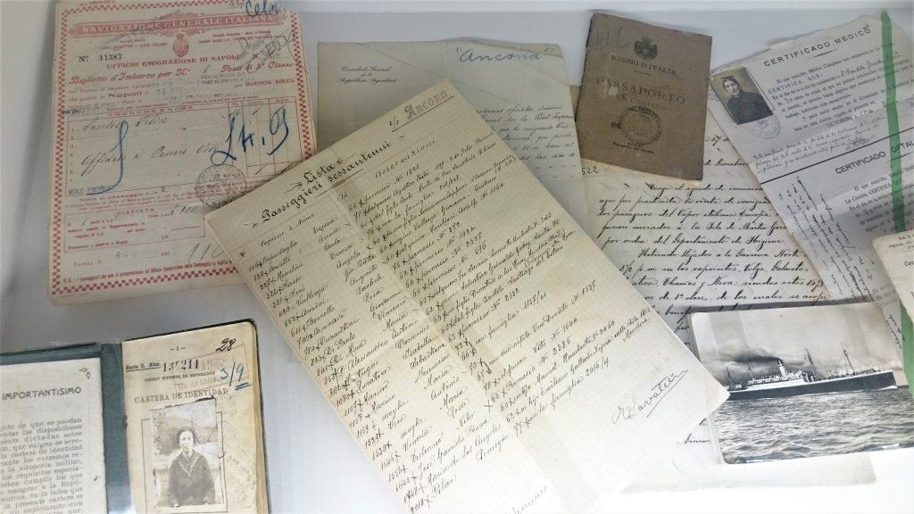 Día del Inmigrante Italiano - Documentos Migratorios