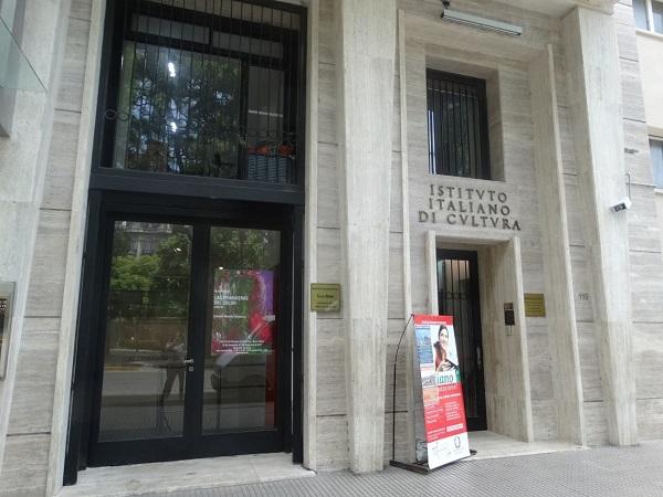 Instituto Italiano De Cultura - Puerta