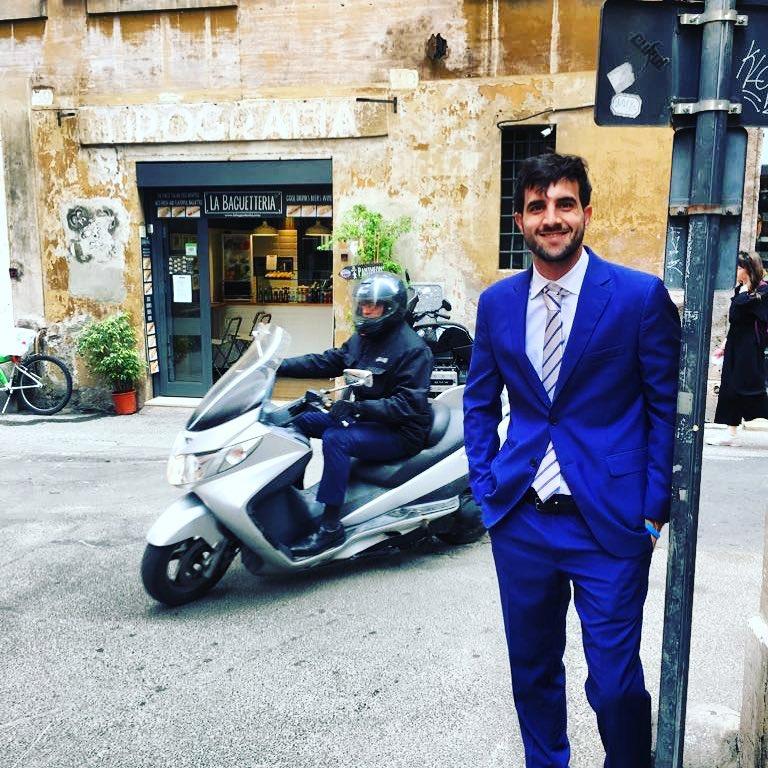 Mateo Bovio - Mateo en Italia