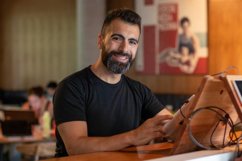 Pablo Colangelo - Entrevista al ganador del concurso