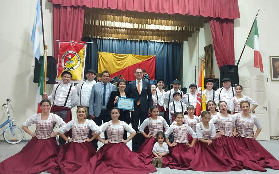 Día del Siciliano - Ballet en el dia del siciliano