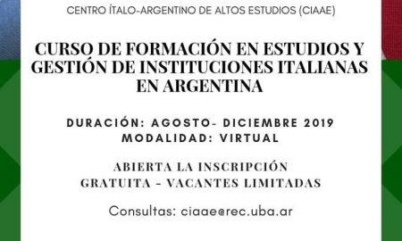 curso de formación - folleto CIAAE