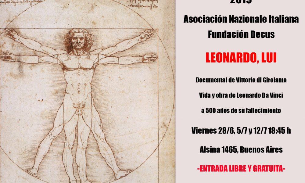 """Da Vinci - El documental """"Leonardo, Lui"""" fue creado por Vittorio di Girolamo."""