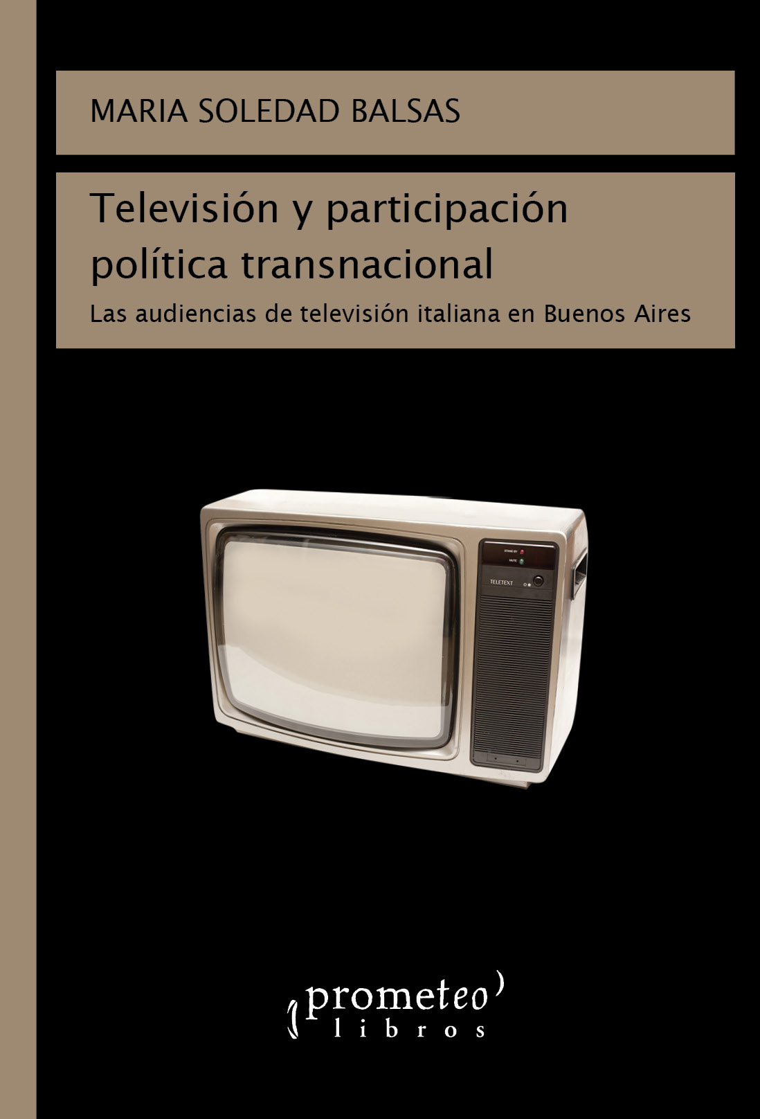 Maria Soledad Balsas - Libro