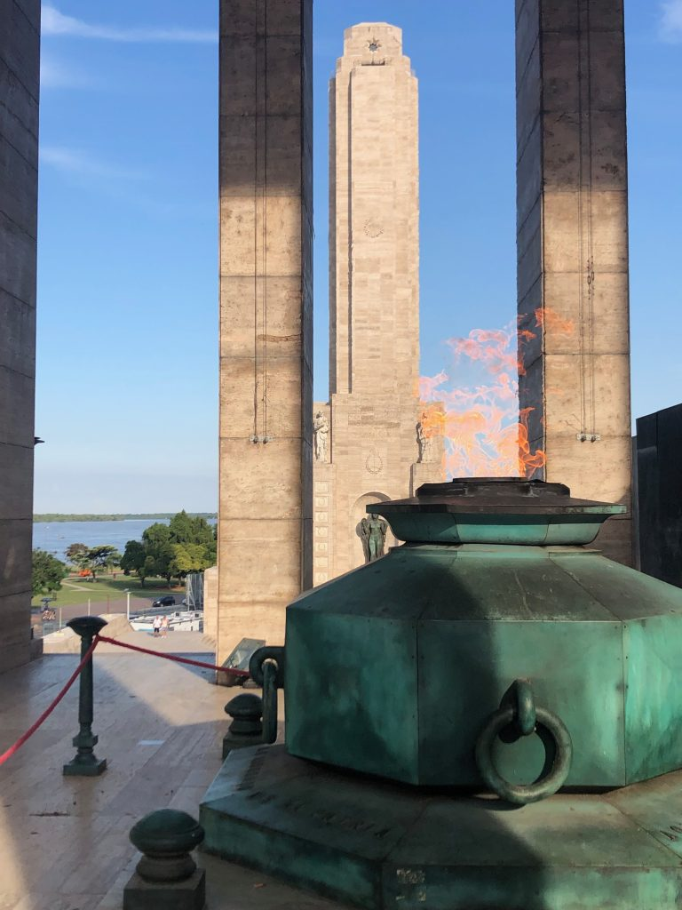 Manuel Belgrano - Monumento Historico a la Bandera en Rosario