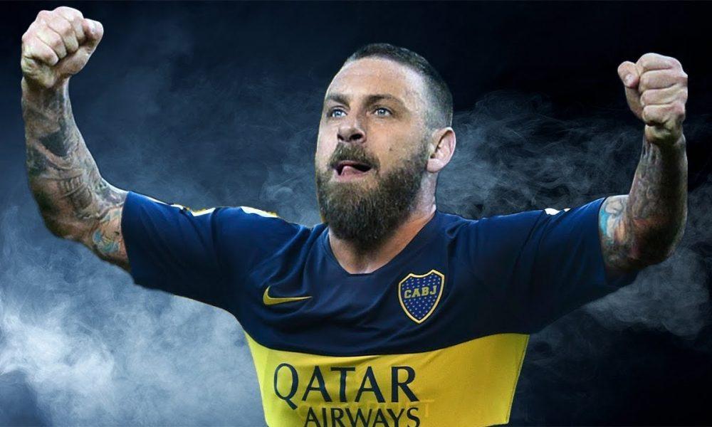 Daniele De Rossi - El jugador llegará para jugar un año en Boca Juniors.