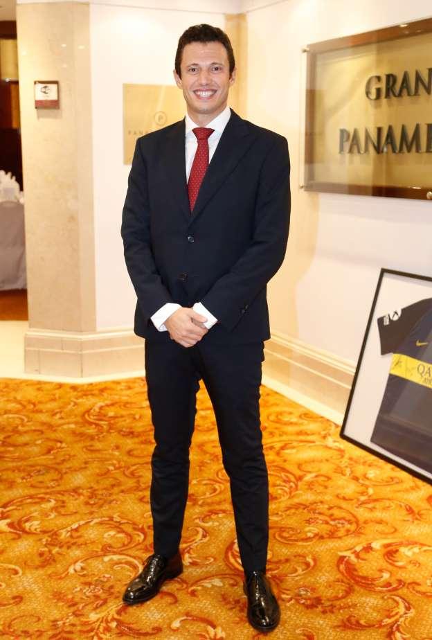 Gianluca Guerriero - Cónsul general de Italia en Buenos Aires