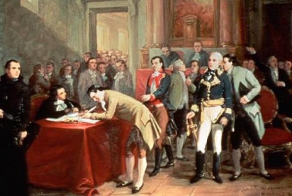 9 de julio de 1816 - Cuadro ilustrativo