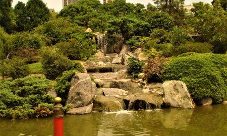 Jardin Japones - Cascada