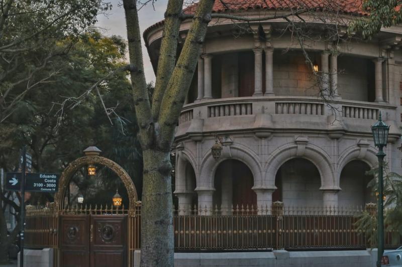 La Casa Redonda - Entrada Ph. Sabrina