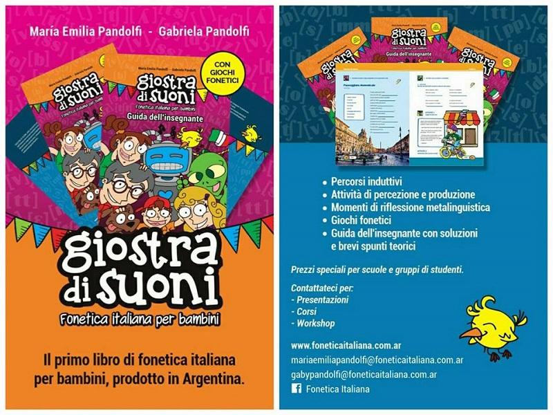 Taller de Fonética - Giostra di Suoni es un manual con actividades para aprender fonética italiana de manera fácil.