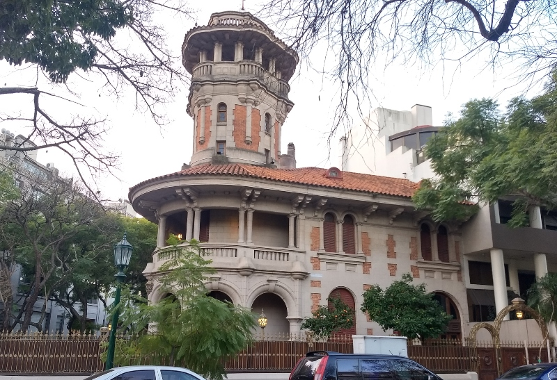 La Casa Redonda - Panoramica
