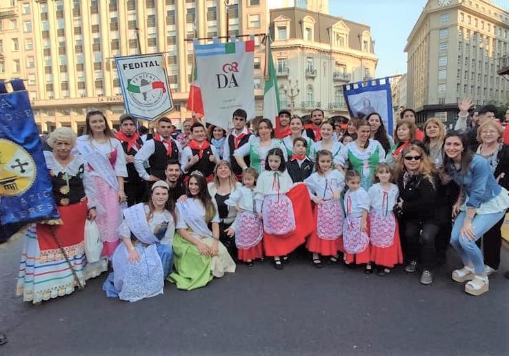 Día del inmigrante - Colectividad Italiana