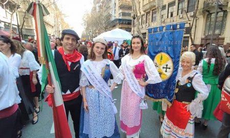 Día del inmigrante - Representantes Asociacion Calabresa