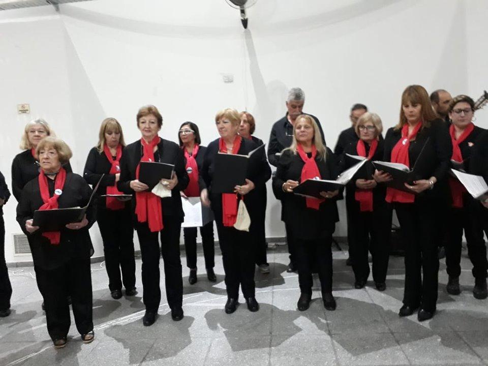 Coro Vincenzo Bellini - Uno de los coros participantes