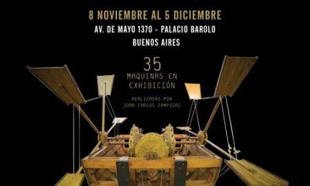 Maquinas e inventos - Exposicion Flyer