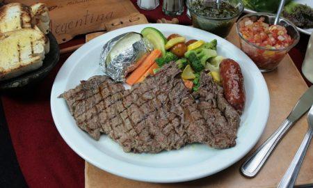 Carne argentina - Plato Con Carne