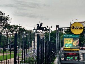 Monumentos - Plaza Italia