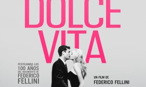 """La Dolce Vita"" - Anuncio del reestreno."