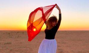 Lucia Scarabino - Lucia Scarabino En Arabia Saudita