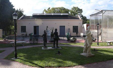 Paseo De Las Esculturas-obras en exposición