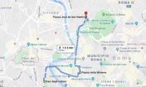 Monumentos argentinos -Mapa De Roma