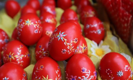 Costumbres pascuales - huevos de pascua