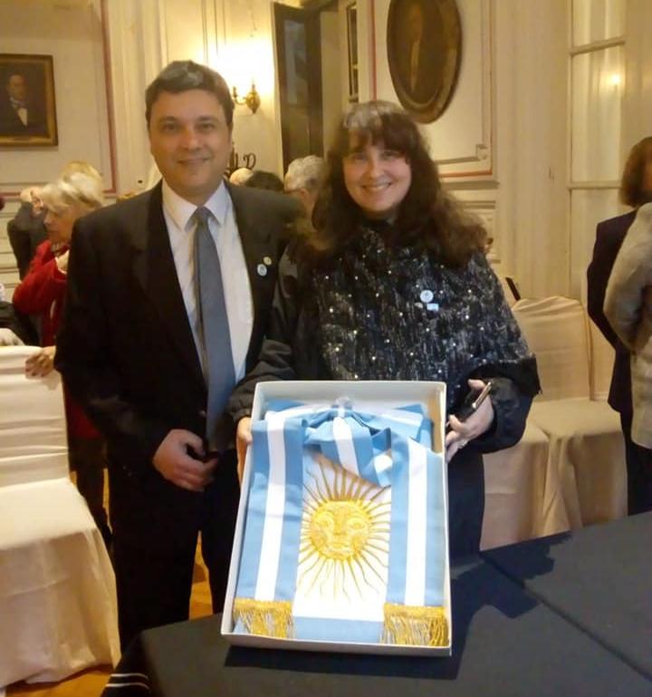 Alejandro Rossi Belgrano- Alejandro Rossi Belgrano Junto A Su Hermana Mariana Rossi Belgrano