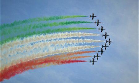 Fiesta de la república - Frecce Tricolori