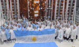 Misión espacial - Italia y Argentina