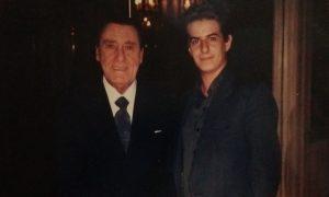 Sordi - Alberto Sordi en el Hotel Alvear