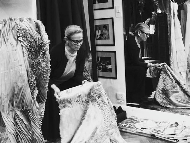 Elsa Serrano - En su atelier