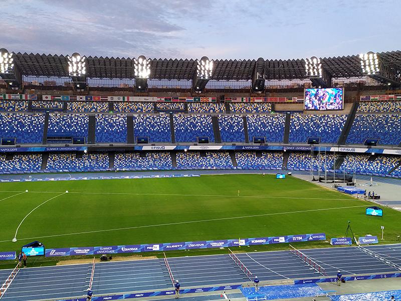 Estadio Del Napoli - Italia