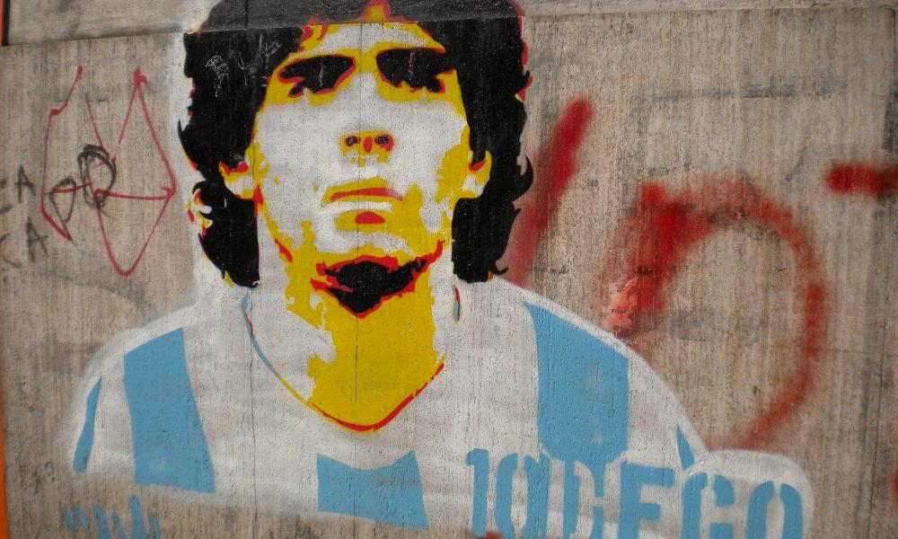 Diego Armando Maradona - Grafitti