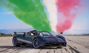 Pagani Huayra Tricolore - Huayra Tricolore Con La Bandera De Italia.