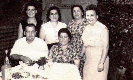 Luisa Pozone - Felipa Cicerone De Pozone Con Sus 5 Hijos