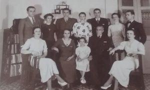 Manfredi - Familia Manfredi Fortuanto Alrededor De 1930
