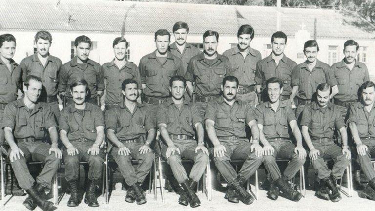 Miembros del Regimiento 4 de Monte Caseros