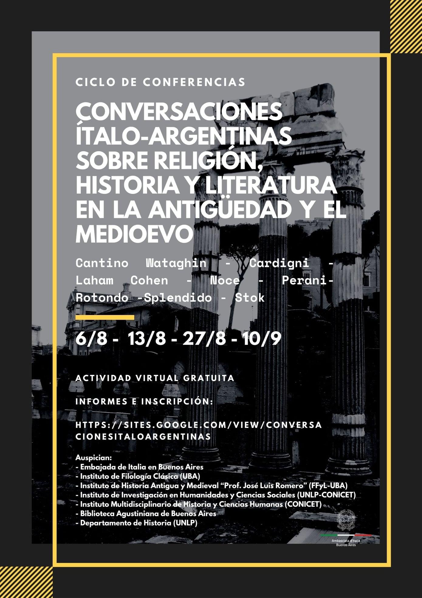 Conversaciones Italo Argentinas -Conversaciones Italo Argentinas Flyer