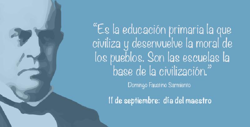 11 de septiembre - Frase Sarmiento