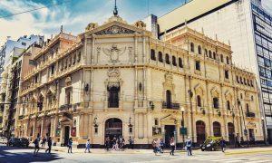 Teatro Nacional Cervantes - Fachada Tnc