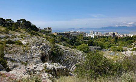 Anfiteatro romano di Cagliari prima della riqualificazione