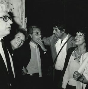 1978 Luigi Silori Daisy Silori Pino Caruso Nanni Loy Marilida Ferzetti