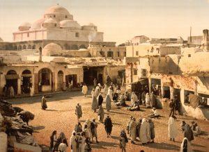 Bab Suika Suker Square, Tunis, Tunisia, Ca. 1899