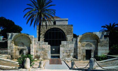 La Basilica Di San Saturnino Di Cagliari.