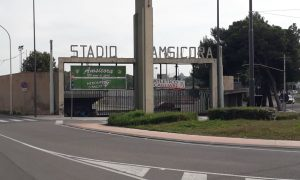 L'ingresso Dello Stadio Amsicora In Piazza Manlio Scopigno