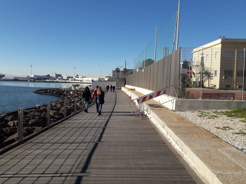 Su Siccu, la passeggiata