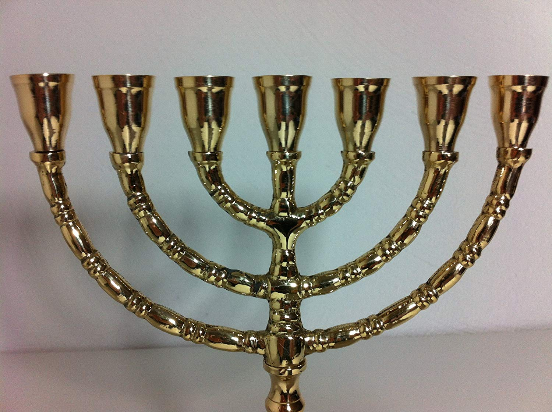 Candelabro a 7 bracci della tradizione ebraica
