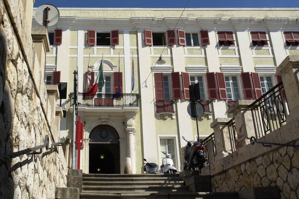 facciata del Palazzo Regio